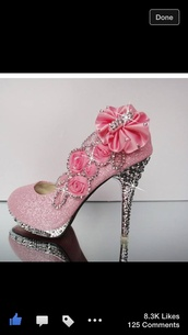 shoes,baby pink high heels