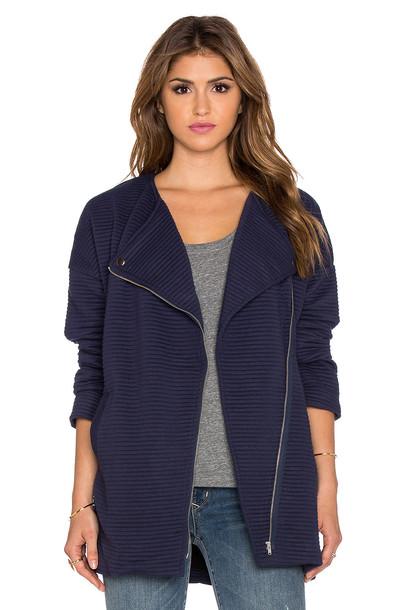jacket biker jacket navy