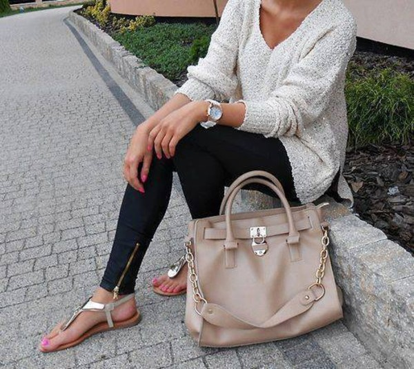 bag grey beige women shoulder bags shirt