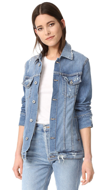 James Jeans Oversized Boyfriend Jacket - Throwback