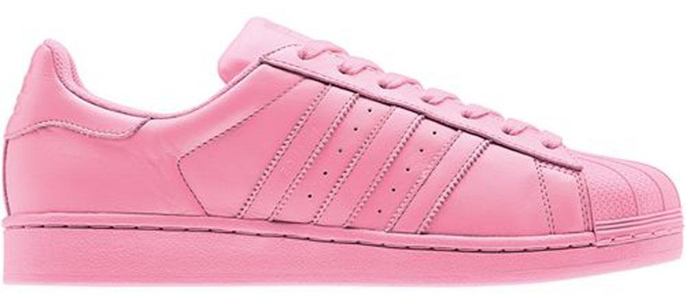 adidas superstar light rosa