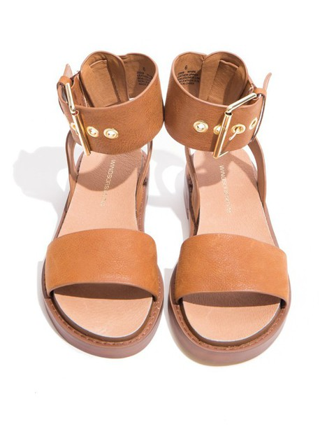 5c557d47d6c shoes buckle sandals ankle strap sandals brown sandals ankle sandals chunky strap  sandals stacked heel large