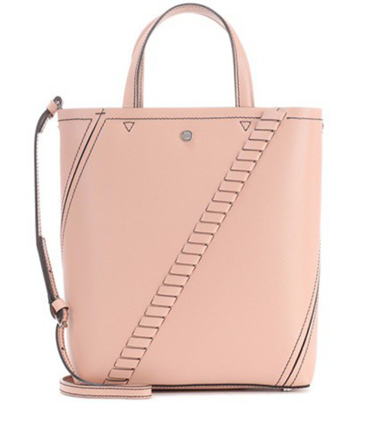 Proenza Schouler mini leather pink bag