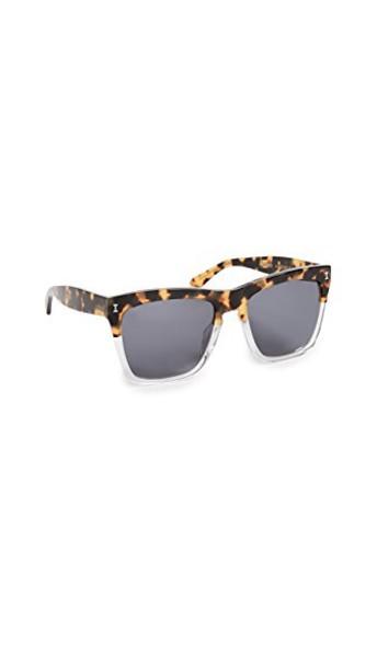 Illesteva sunglasses brown