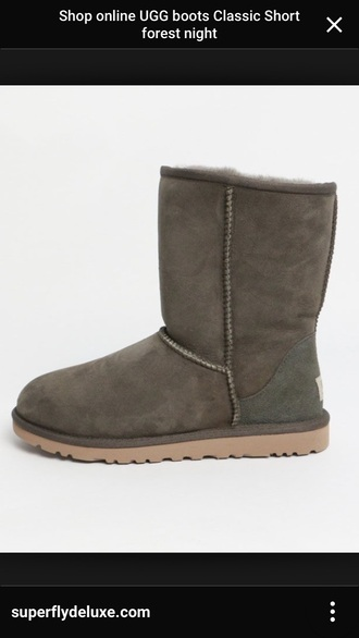 shoes short classic ugg boots green shoes