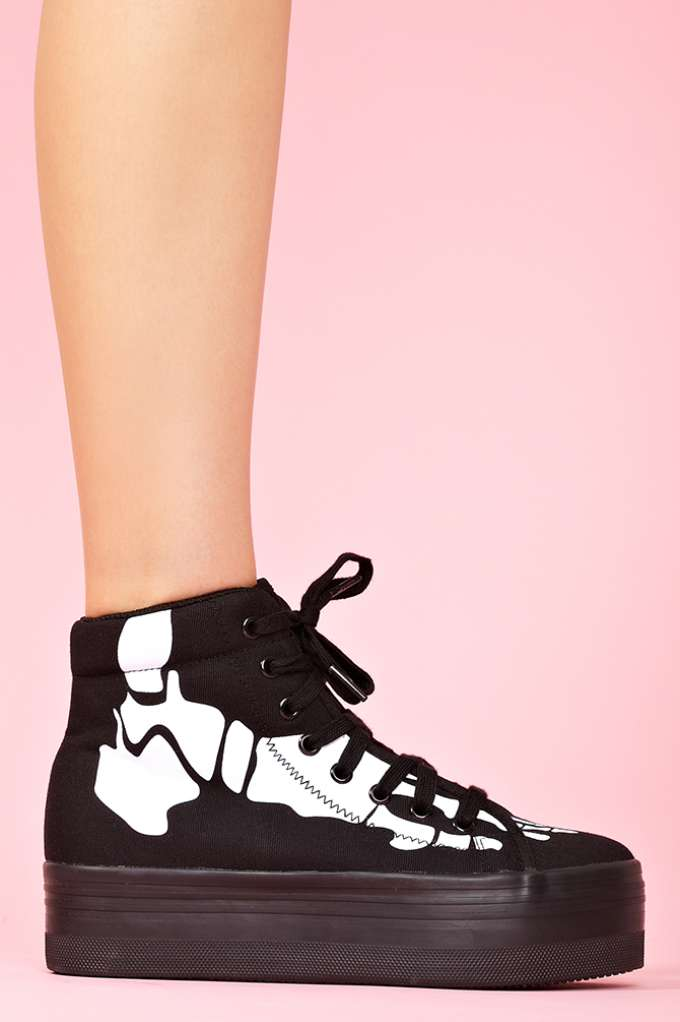 Homg Platform Sneaker - Skeleton  in  Shoes at Nasty Gal
