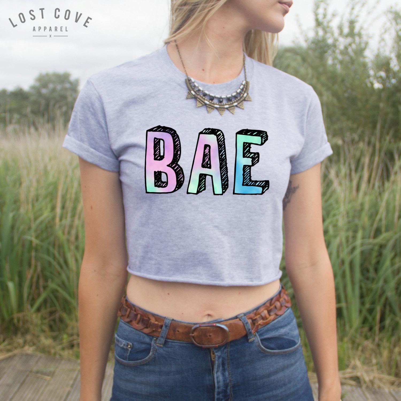 Bae crop top shirt pastel blogger fashion hast du eine oder gar keine? fangirl freund