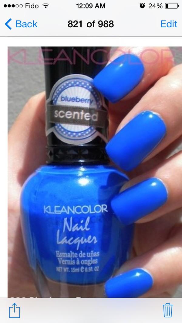 nail polish royal blue nail polish