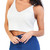 V Neck Knitted Crop Top | Emprada