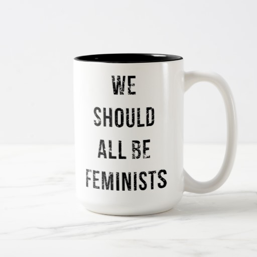 We Should All Be Feminists Two-Tone Coffee Mug
