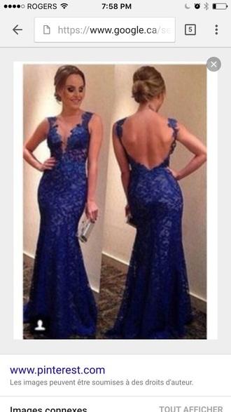 dress blue dress prom dress long prom dress backless prom dress prom gown