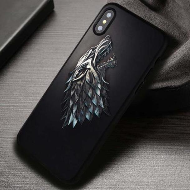 phone cover, movies, game of thrones, stark, iphone cover, iphone ...