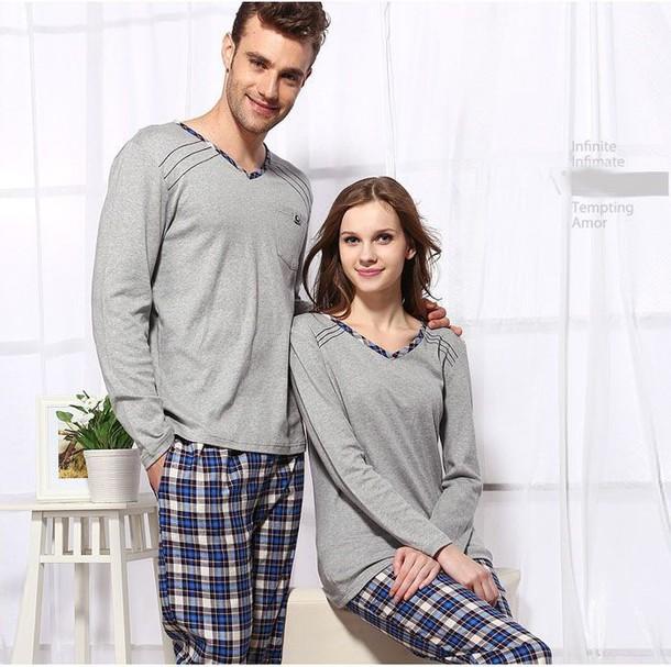 pajamas matching couples