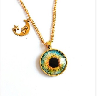 jewels gold eyeball