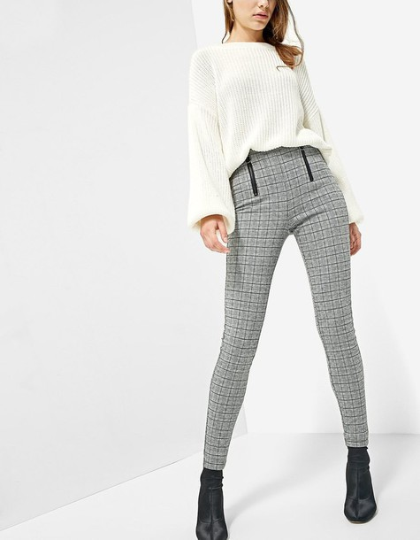 Stradivarius leggings black pants