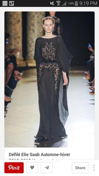 formal designer elliesaab beads designer.wear beautiful.gown formal.dress eliesaab