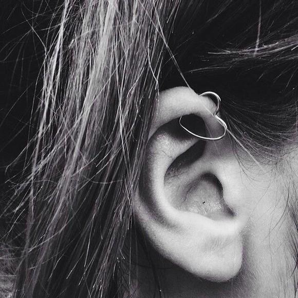 jewels earrings hearts jewel