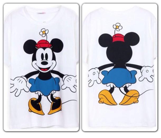 shirt t-shirt minnie mouse