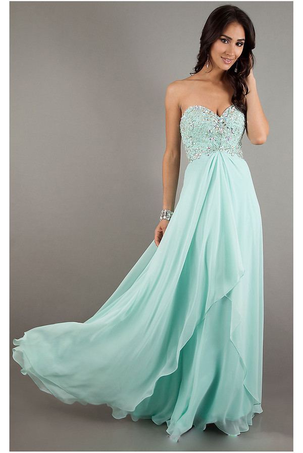 Long Strapless Prom Dress By Mori Lee 93003