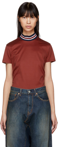 Harmony t-shirt shirt t-shirt red top