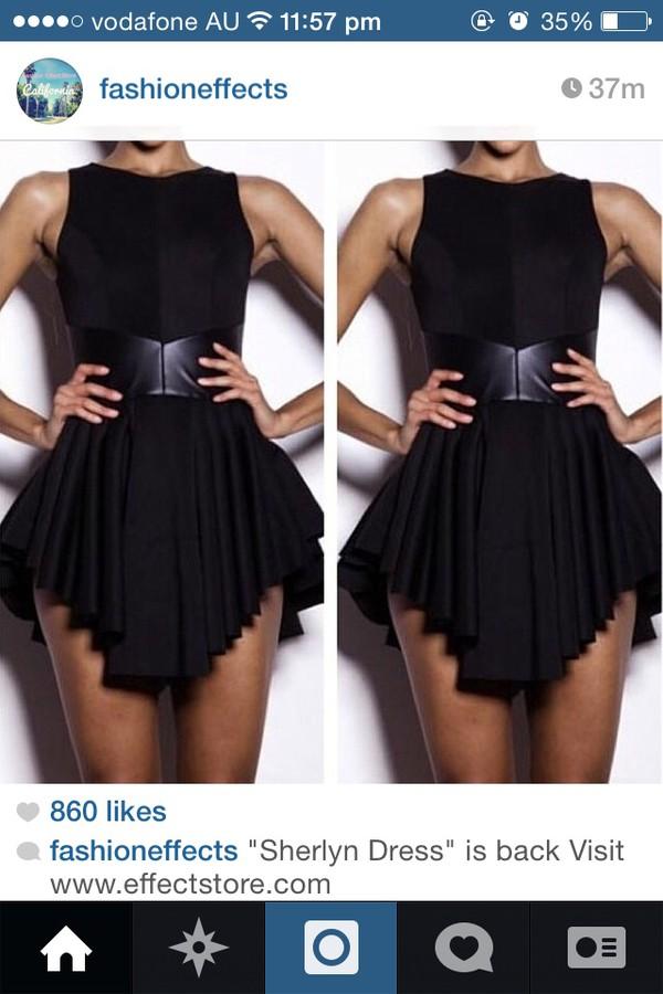 dress black dress belt black little black dress charlotte crosby