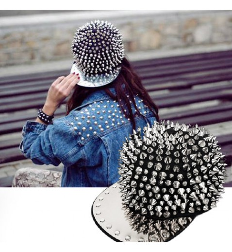 Spiked Baseball Cap - Hats - Accessories