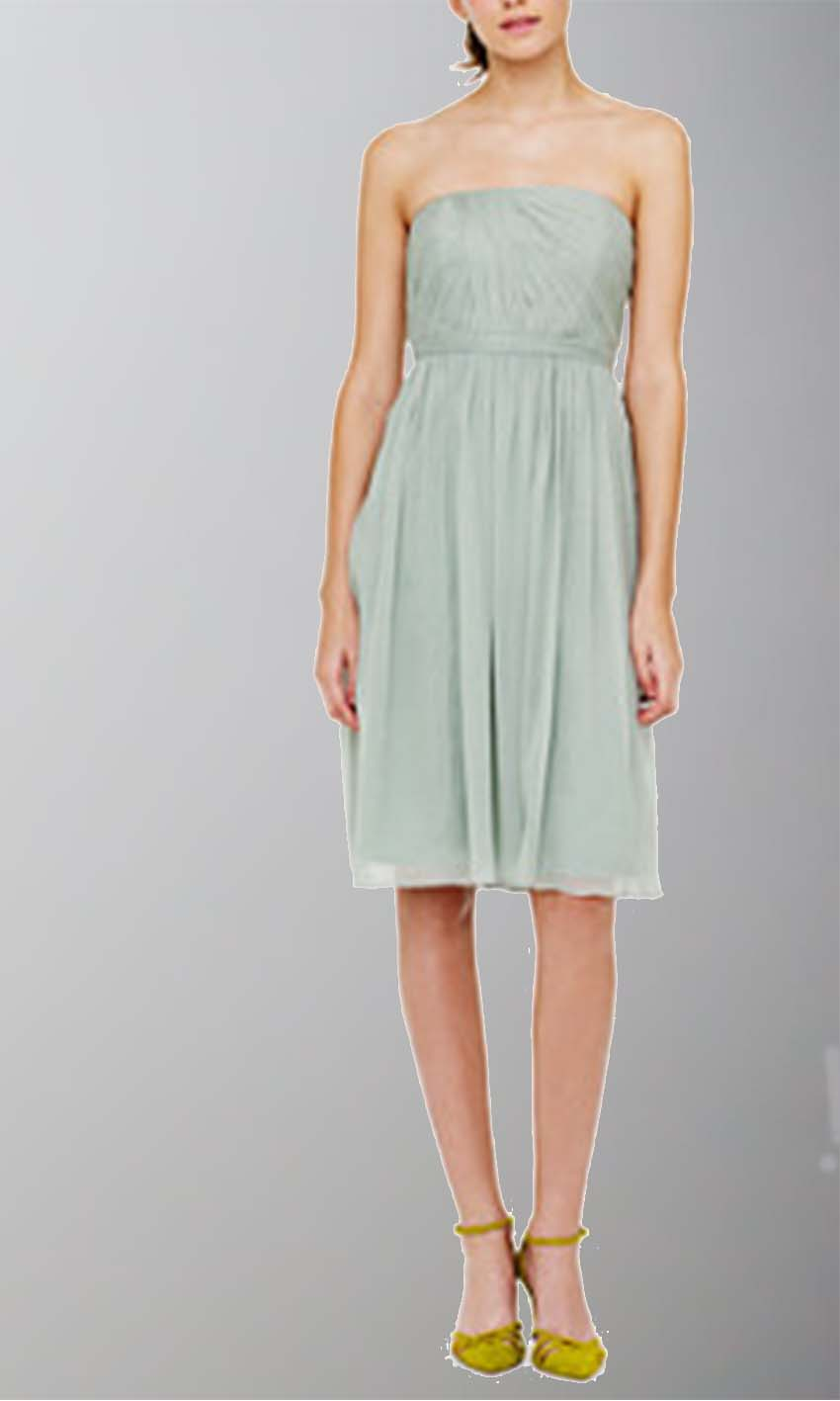 Mint Strapless Sash Short Bridesmaid Dress KSP329 [KSP329] - £87.00 : Cheap Prom Dresses Uk, Bridesmaid Dresses, 2014 Prom & Evening Dresses, Look for cheap elegant prom dresses 2014, cocktail gowns, or dresses for special occasions? kissprom.co.uk offers various bridesmaid dresses, evening dress, free shipping to UK etc.