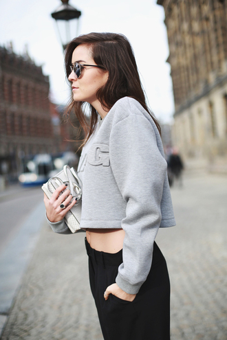 style scrapbook blogger top bag sunglasses jewels alexander wang