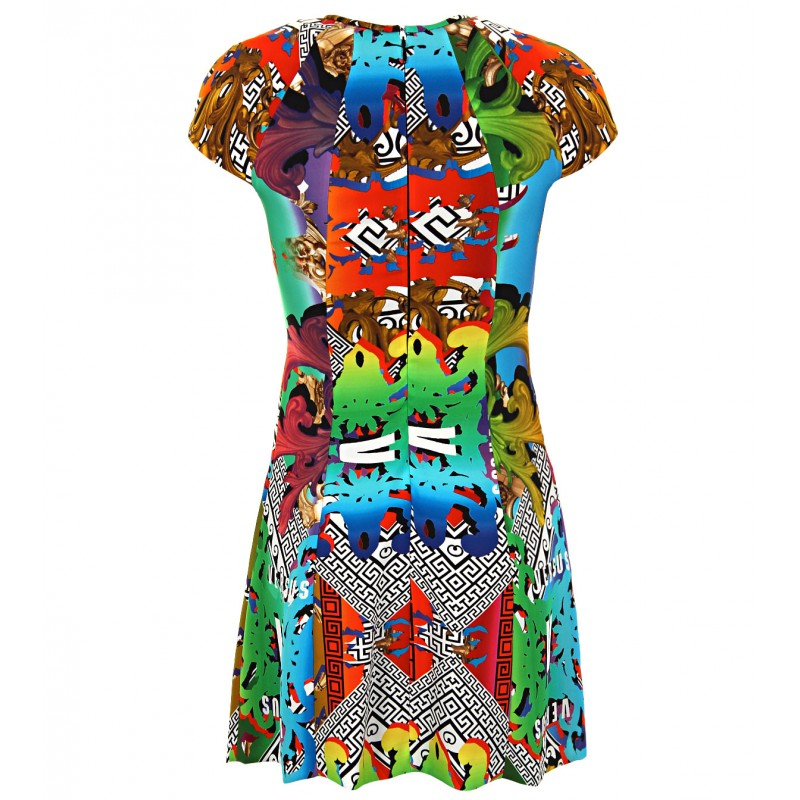 Versus Rainbow Print Mini dress