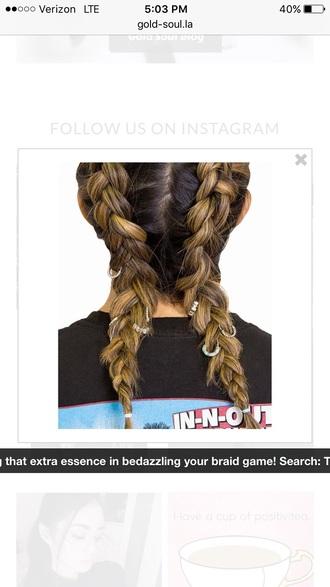hair accessory hair clip braid