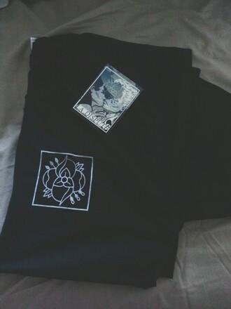 t-shirt la dispute logo band t-shirt band merch t shirt print black t-shirt
