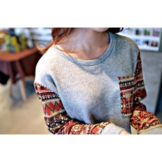 shirt aztec grey sweater red sweater hoodie christmas grey dress