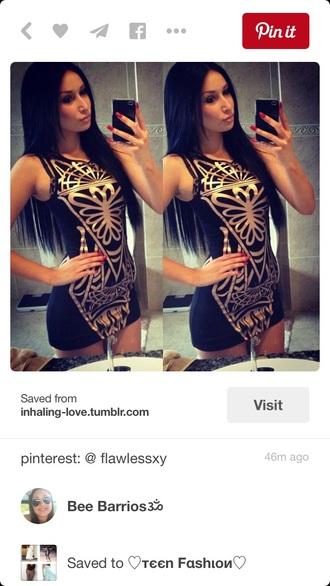 dress gold mini dress clubwear bodycon dress bodycon black dress little black dress cute dress summer dress