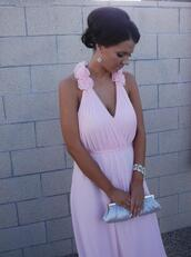 dress,formal,gown,graduation dress,prom dress,formal dress,pink dress