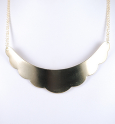 Kahlo bib necklace
