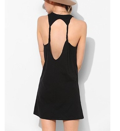 Backless twisted dress · fashion struck · online store powered by storenvy