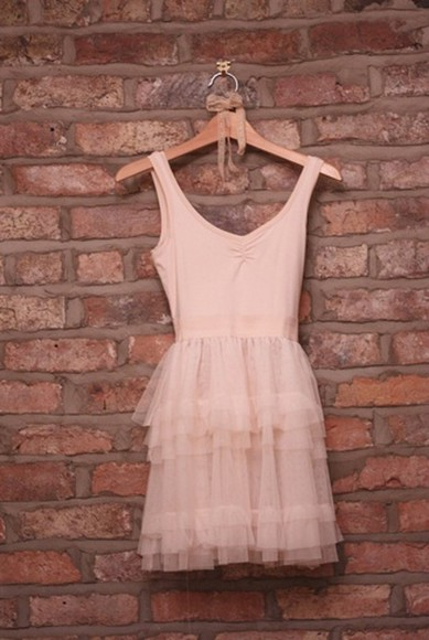 carrie bradshaw tutu carrie tulle ballet pink nude brown dress