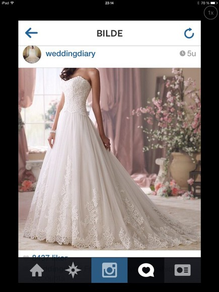 dress clothes: wedding wedding dress lace wedding dresses weddingdress