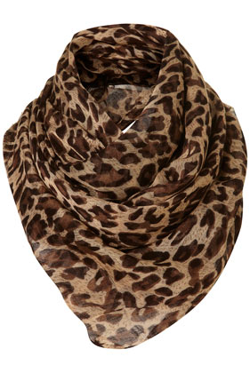 Leopard Scarf - View All - Scarves  - Accessories - Topshop