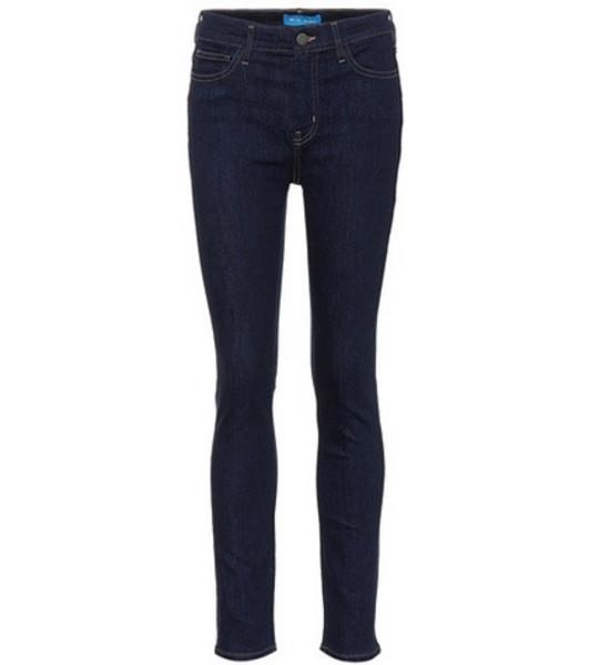 M.i.h Jeans Bridge high-rise skinny jeans in blue