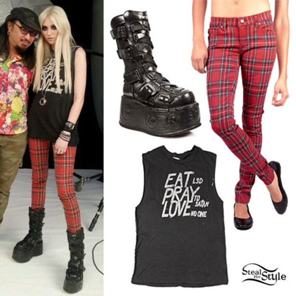 taylor momsen shoes grunge top eat pray love lsd satan satanist jeans
