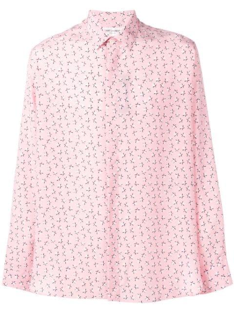 Saint Laurent Star Print Shirt - Farfetch