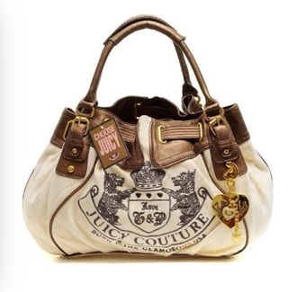 bag juicy couture handbag brown bag