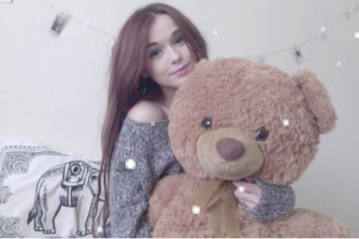 sweater acacia brinley stuffed animal