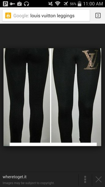 leggings louis vuitton