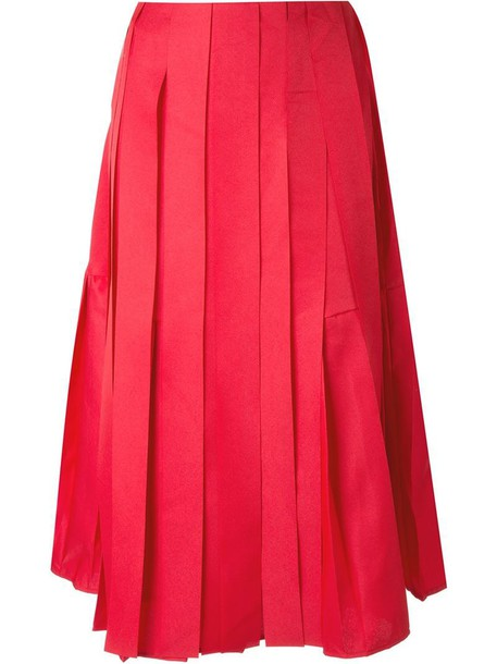 Max Tan skirt women red