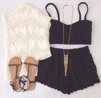 blouse white lace