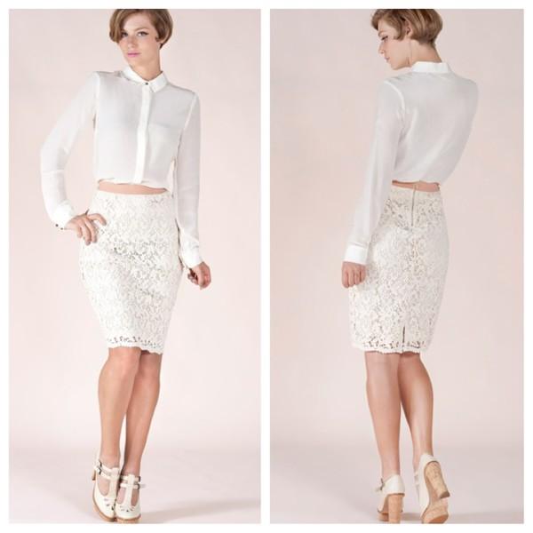 www.dorcellesempire.com f lace up skirt clothes classy white vintage
