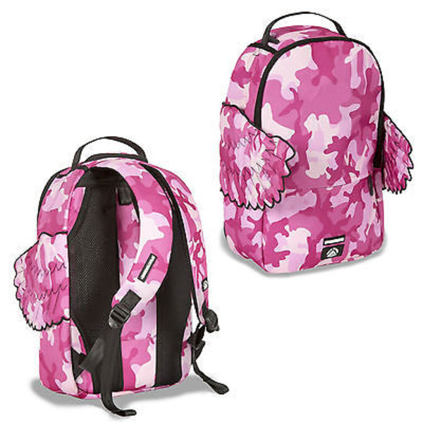 Pink Winged Black Pyramid Backpack Sprayground Backpacks Bags And Accessories