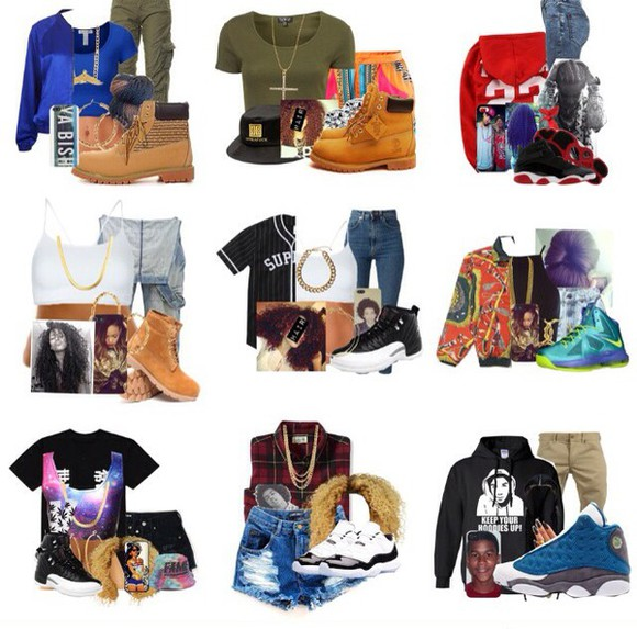 jeans overalls top shoes bag timberlands shirt jersey bucket hat gold chain jacket green hoodie leggings high waisted pants oversized sweater mindless behavior omg girlz High waisted shorts